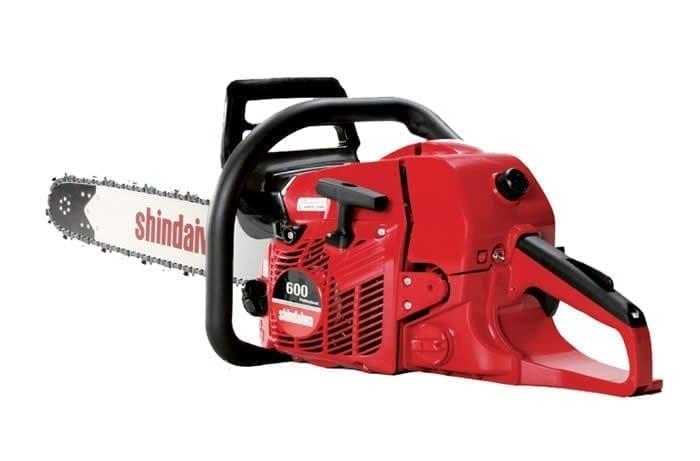 "Shindaiwa 600 Chainsaw - 20"" Bar, 59.8cc, 3.0Kw, 5.9Kg"