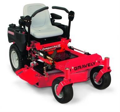 "Zero Turn Mower | Gravely Compact Pro 34, Kawasaki FX Engine, 34"" Cut"