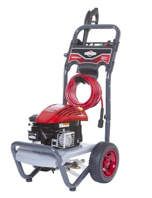 Briggs and Stratton 2200 PSI Pressure Washer - B&S 550 Engine, 158cc