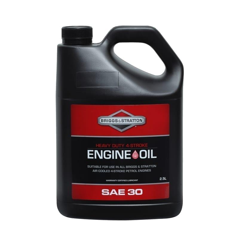 Briggs & Stratton 2.5 Litre 4 Stroke SAE30 Oil