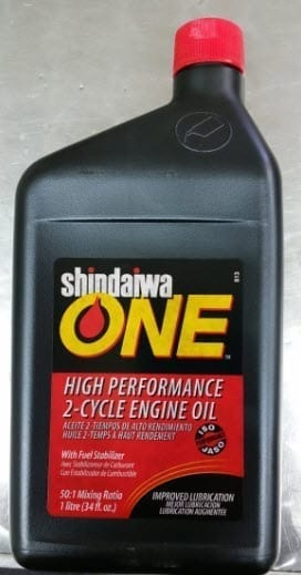 Shindaiwa One 2 Stroke Oil
