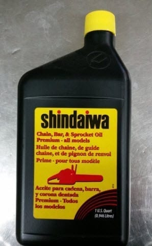 Shindaiwa Bar & Chain 1 LTR