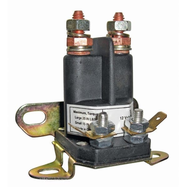 "Parts | Solenoid - 1/4"" and 5/16"" Post. Single Pole-Chassis Ground"
