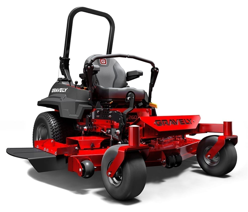 "Zero Turn Mower | Gravely Pro Turn 252 - 27HP Kawasaki, 52"" Cut"