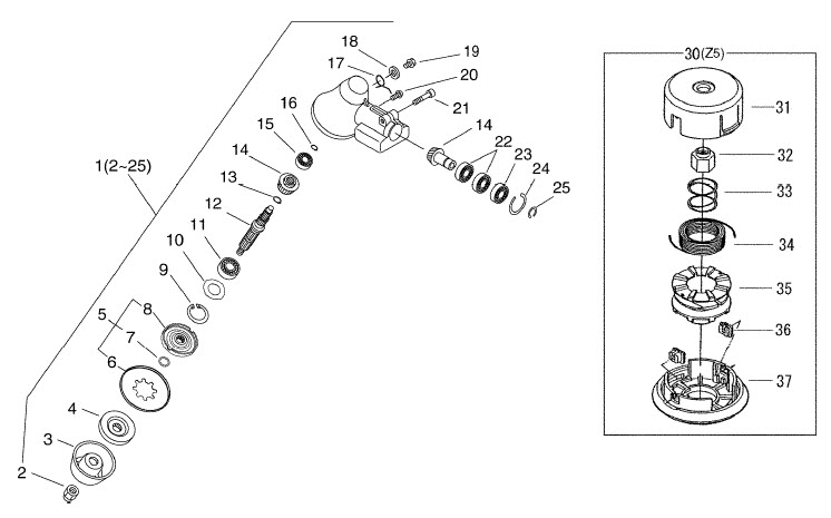 gear case cutter
